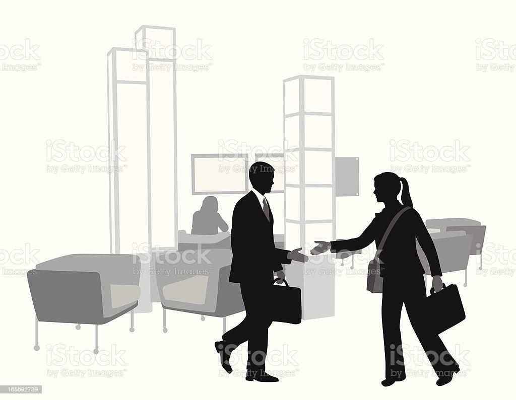 Handshake Vector Silhouette royalty-free handshake vector silhouette stock vector art & more images of adult