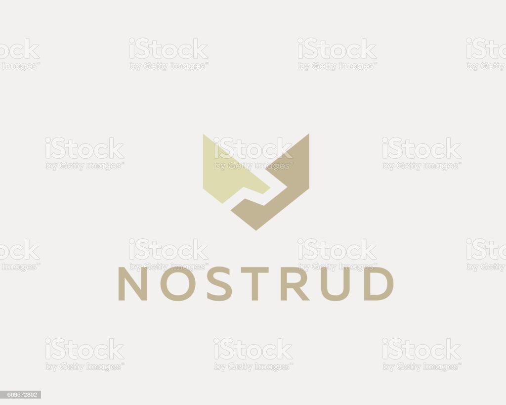Handshake, wings vector icon. Deal, partnership icontype. Luxury team icon symbol vector art illustration
