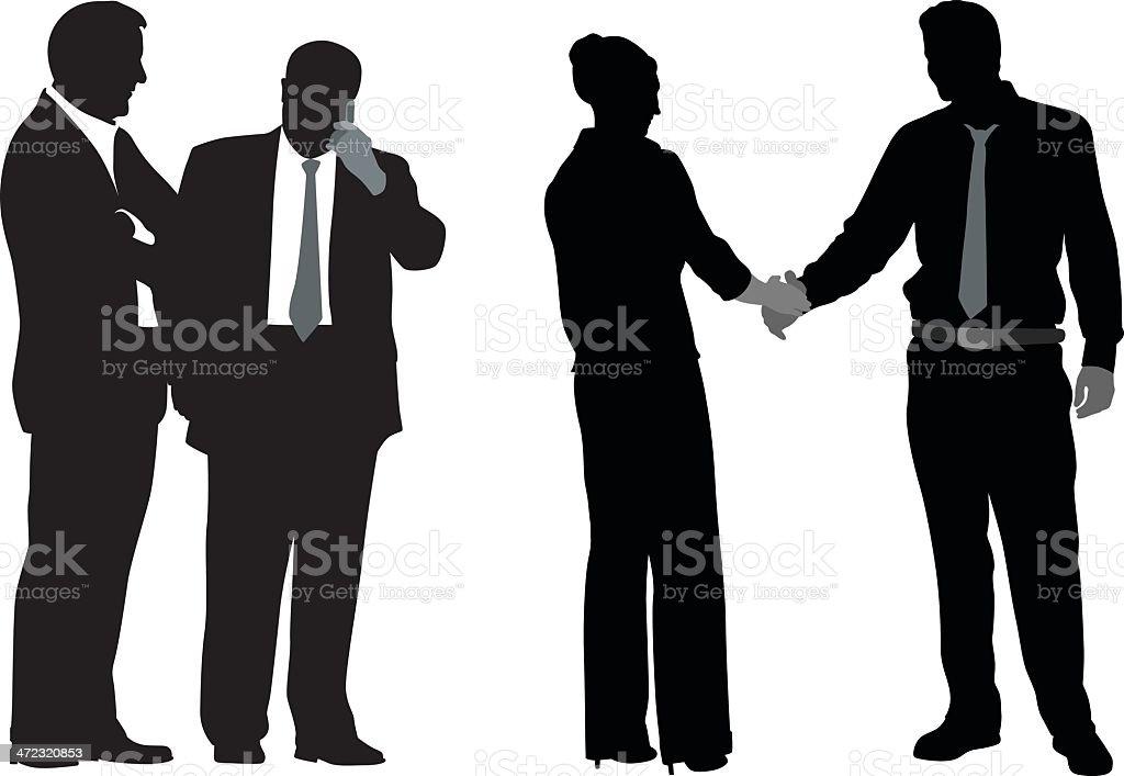 Handshakers royalty-free handshakers stock vector art & more images of adult