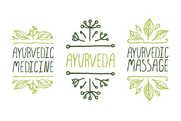 Hand gezeichnete typografischen Elementen – Vektorgrafik