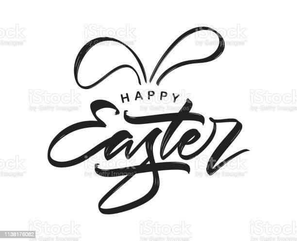Handwritten calligraphic modern brush type lettering of happy easter vector id1138176082?b=1&k=6&m=1138176082&s=612x612&h=ook6tk5ob5dcrvee4l9axknpzdlntequjgyhwaj44jc=