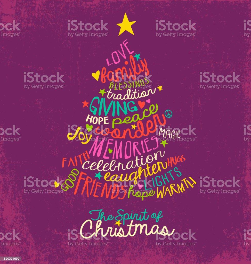 Handwritten christmas words in tree shape word cloud design for handwritten christmas words in tree shape word cloud design for greeting cards posters m4hsunfo