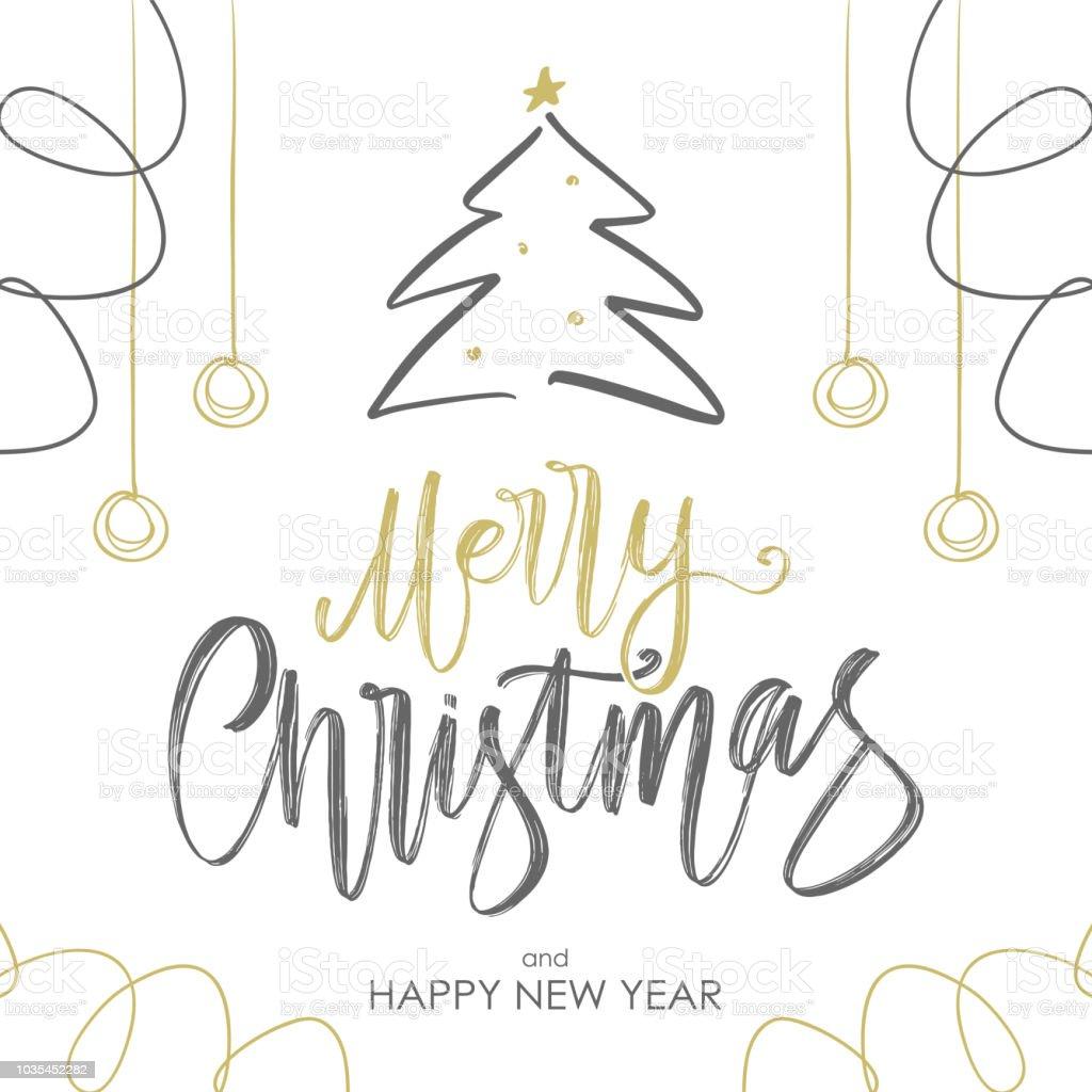 Schriftzug Frohe Weihnachten.Handschriftlich Goldenen Pinsel Schriftzug Frohe Weihnachten Mit