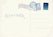 Handwritten letter to Santa from child