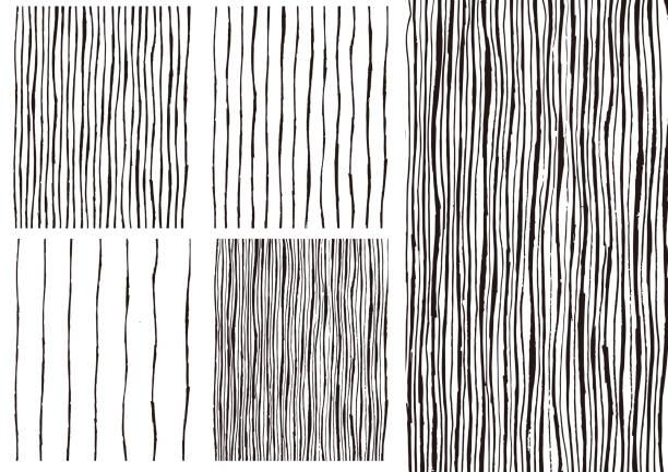 Handwritten vector background decoration 手書きのベクター素材 背景や装飾に使ってください natural pattern stock illustrations