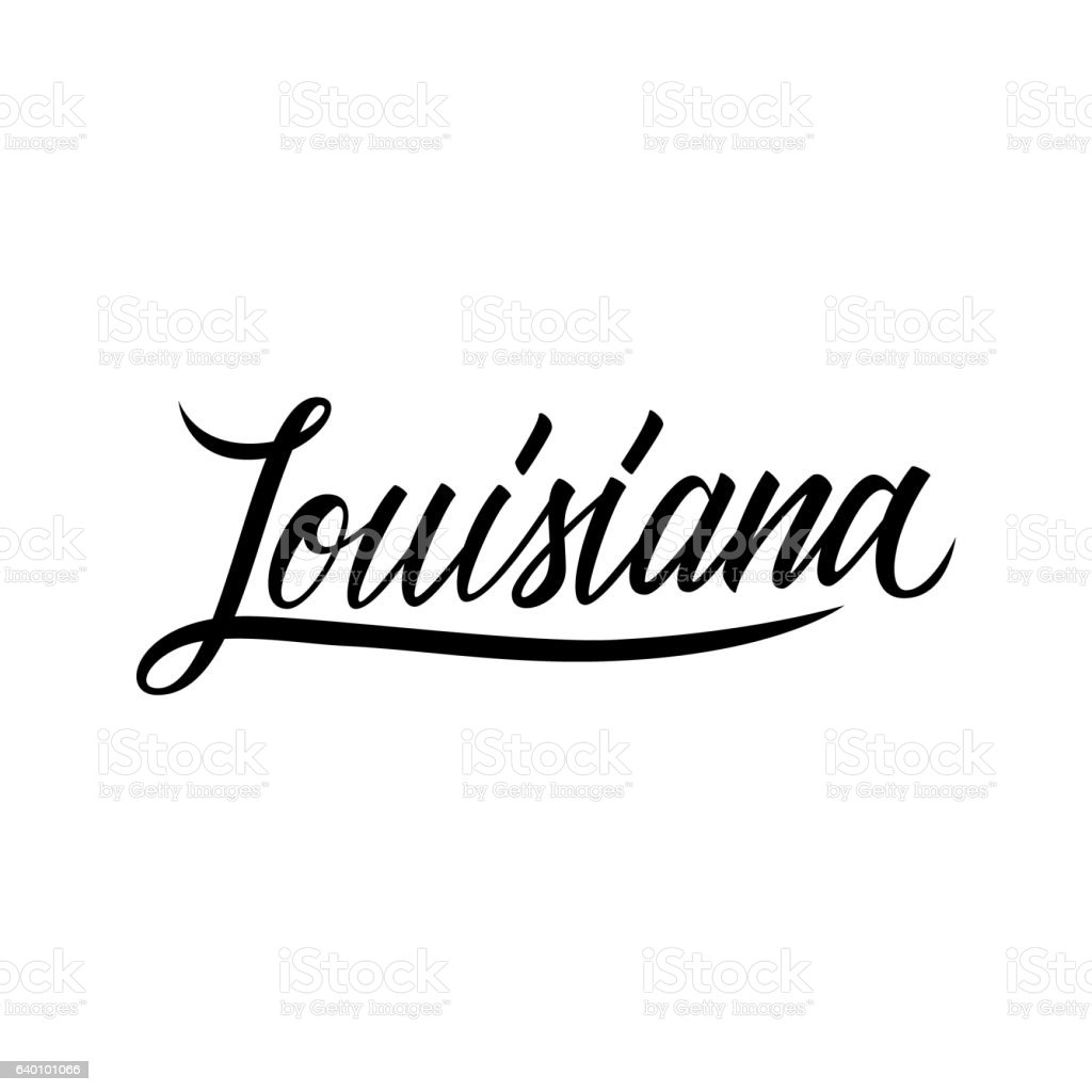 handwritten word louisiana stock vector art   more images new orleans clip art svg new orleans clip art painting