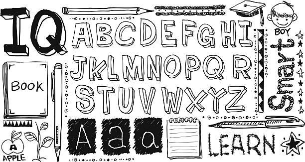 Handwritting Kollektion – Vektorgrafik