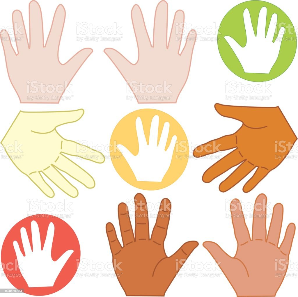 Handy Hands (Vector) royalty-free handy hands stock vector art & more images of accessibility