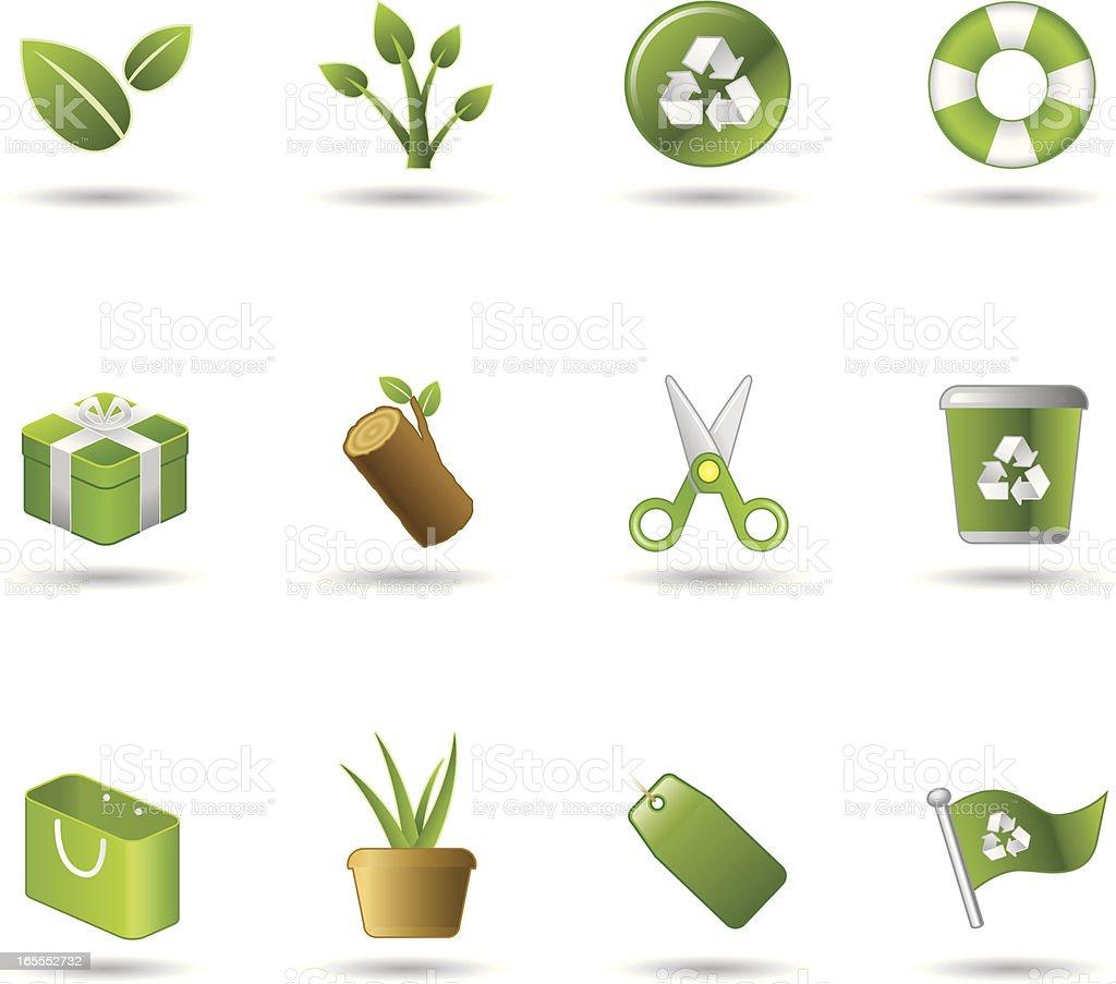 Handy Icons - Environment Shopping royalty-free stock vector art