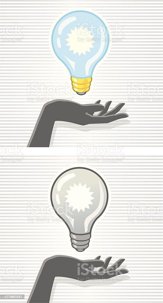 Handy Idea royalty-free stock vector art