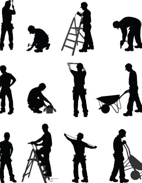 handyman - mechanic stock illustrations, clip art, cartoons, & icons