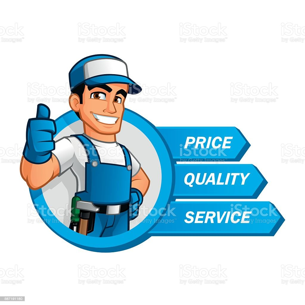 Handyman Stock Illustration