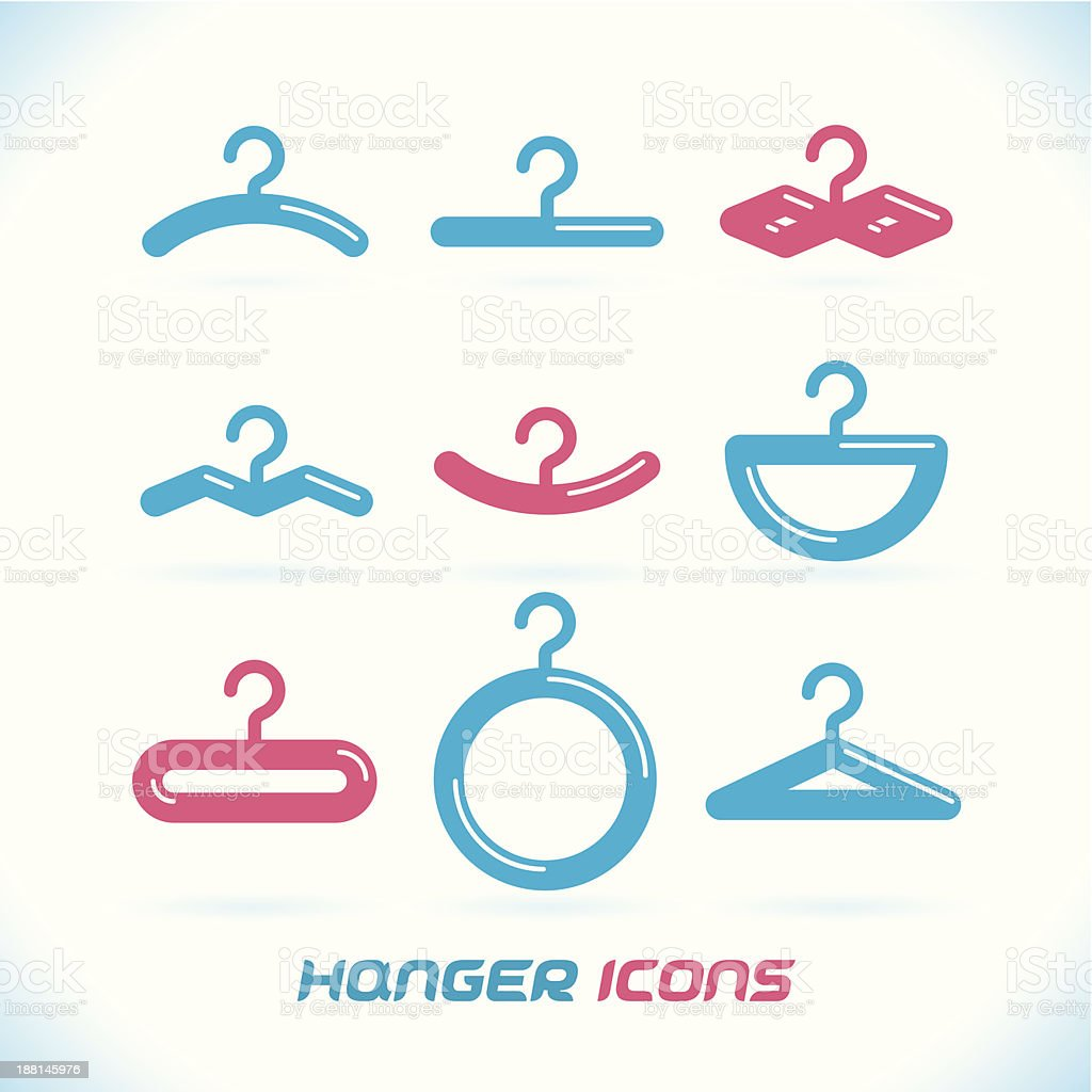 Hanger Icons royalty-free hanger icons stock vector art & more images of closet