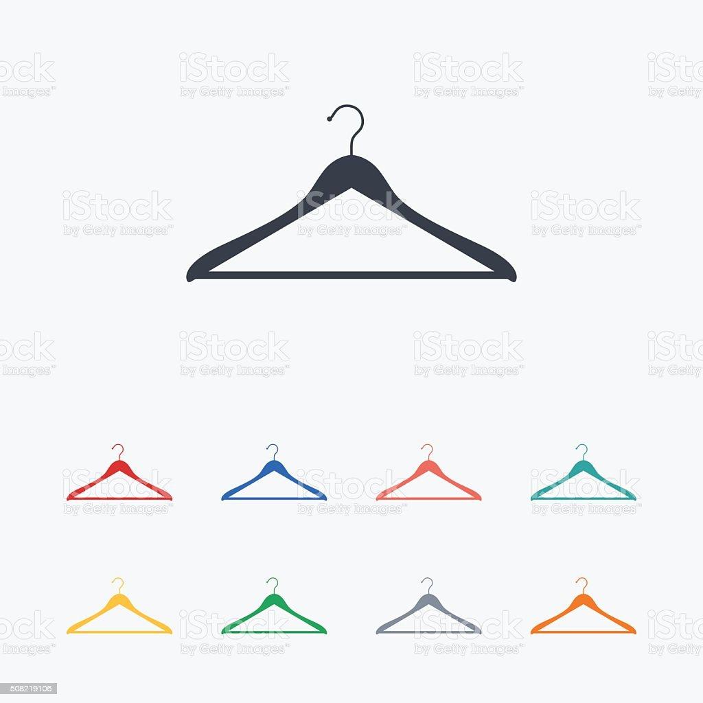 Garderobe schild  Schildsymbol Garderobesymbol Vektor Illustration 508219106 | iStock