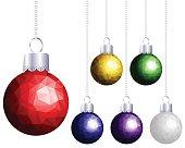 Hanging Balls. EPS 10.