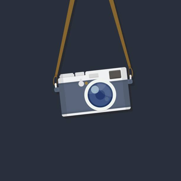 Caméra de pendaison - Illustration vectorielle