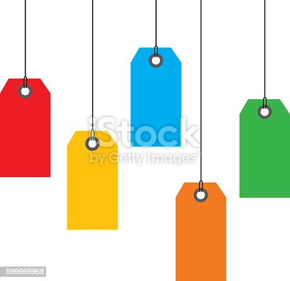 istock Hanging Sales tags 599969968