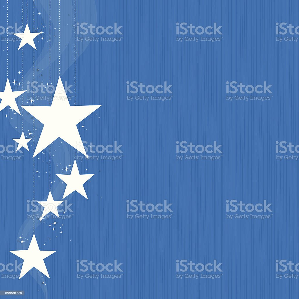 Hanging Stars royalty-free hanging stars stock vector art & more images of backgrounds