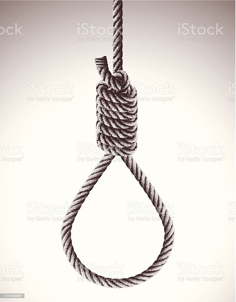 Hangmans Noose Stock Vector Art & More Images of Capital ...