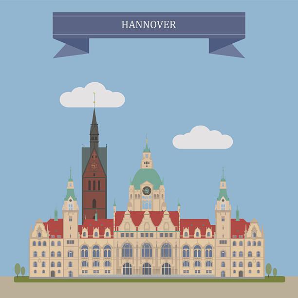 hannover, deutschland - hannover stock-grafiken, -clipart, -cartoons und -symbole