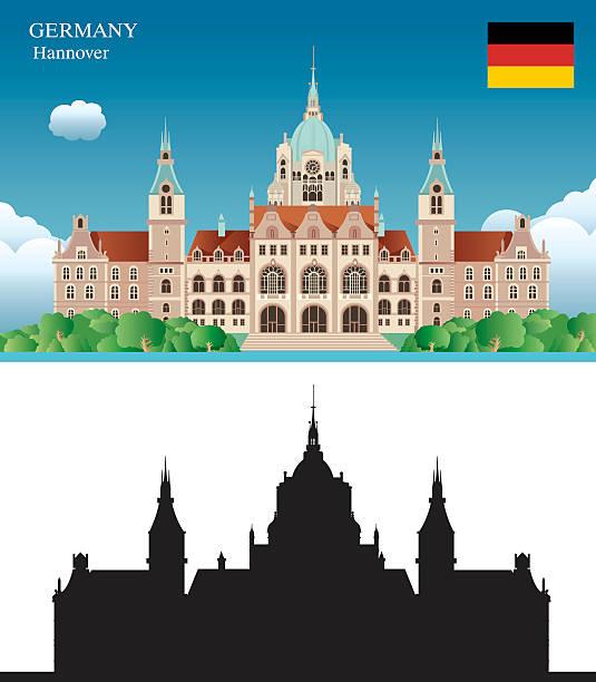 hannover - hannover stock-grafiken, -clipart, -cartoons und -symbole