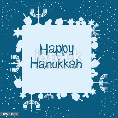 istock Hanukkah Background and Text 185366789