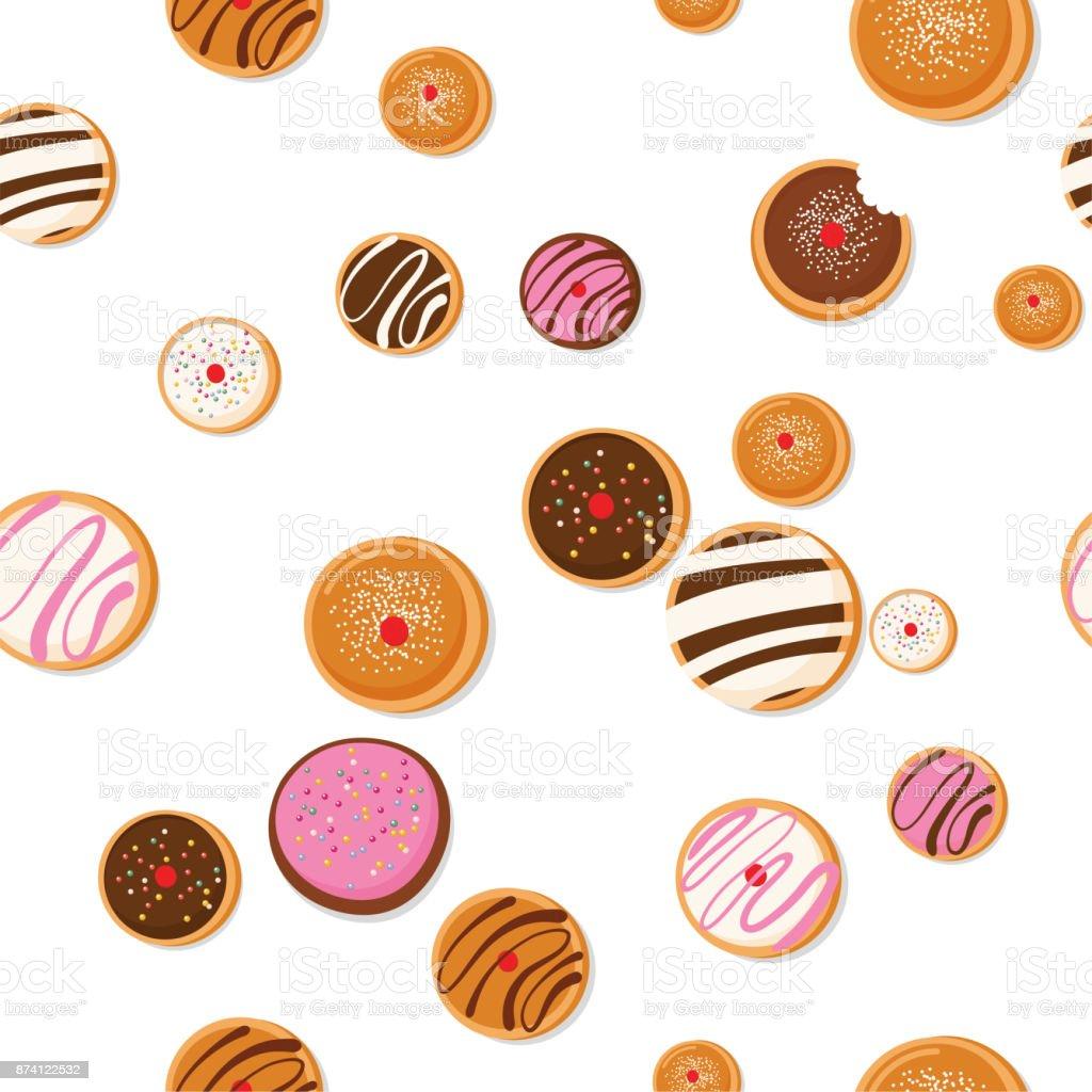 Hanukkah Dougnut Jewish Holiday Symbol Sweet Traditional Bake