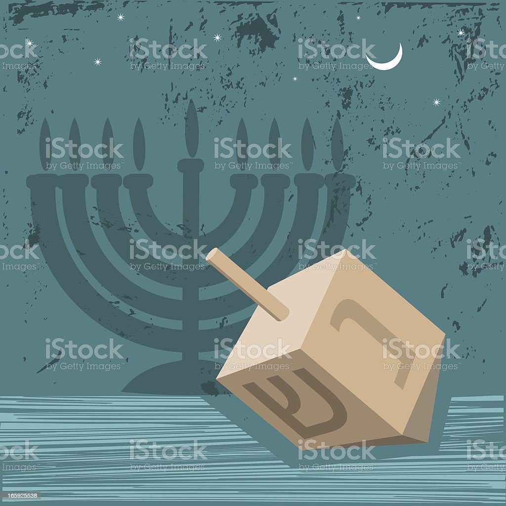 Menorah Lighting Diagram Hanukkah Dreidel And Stock Vector Art More Images Of Brown Royalty Free Amp