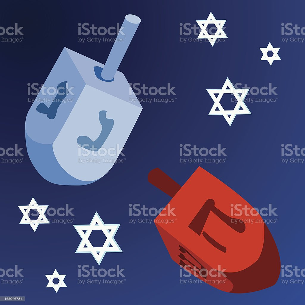 Hanukkah Dreidel royalty-free hanukkah dreidel stock vector art & more images of concepts