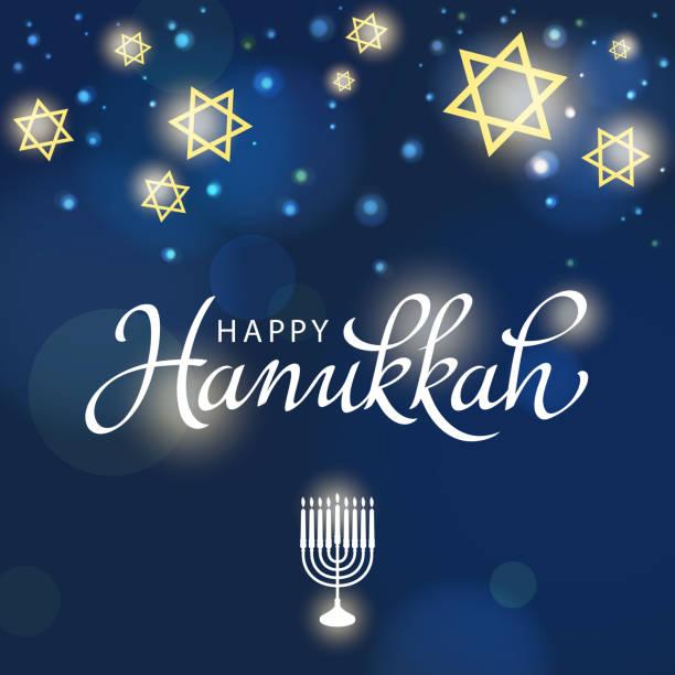 ilustraciones, imágenes clip art, dibujos animados e iconos de stock de festival de hanukkah de luz - jánuca