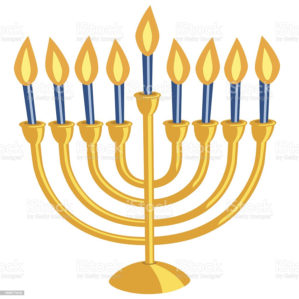 hanukkah menorah stock vector art more images of blue 165677949 rh istockphoto com hanukkah clip art black and white hanukkah clip art images