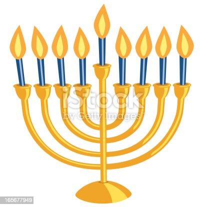 hanukkah menorah stock vector art   more images of blue menorah clipart pdf menora clipart free vector