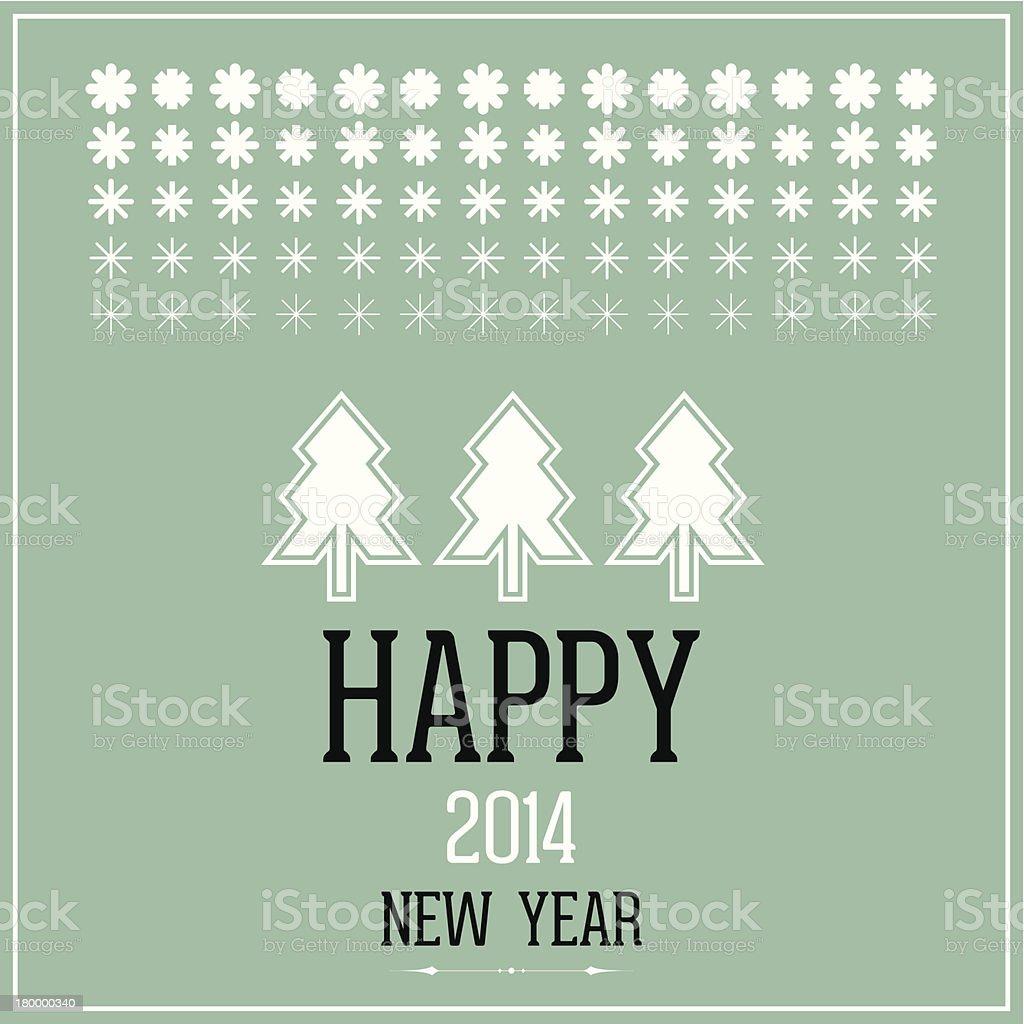 행복함 2014 새해 royalty-free 행복함 2014 새해 12월에 대한 스톡 벡터 아트 및 기타 이미지