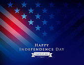 Vector of Happy 4th of July Independence Day Background. EPS Ai 10 file format.