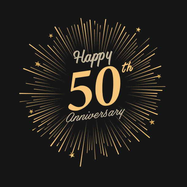 Royalty Free Years Clip Art Vector Images Illustrations - Best of free clip art 50th anniversary design