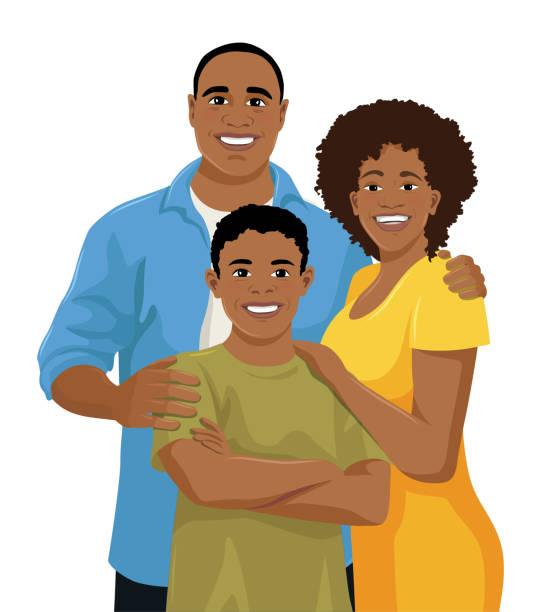 Black People Hugging Illustrations, Royalty-Free Vector ...