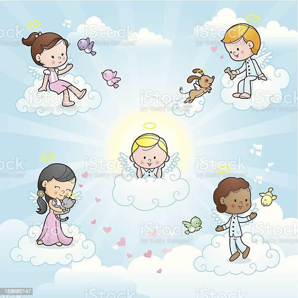 Happy angel kids in heaven vector id158685147?b=1&k=6&m=158685147&s=612x612&h=qd3u 7xf k fikacudtsrhoqbrz1nyipi1ndi dm7ti=