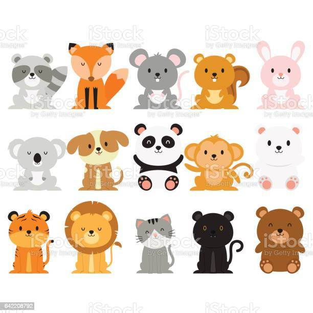 Happy animal collection vector id642208792?b=1&k=6&m=642208792&s=612x612&h=4c9ee0eyiuu2i93 rnz tioihqmnykuyfnd2jt5xte0=