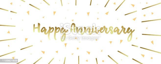 Happy Anniversary Banner Design