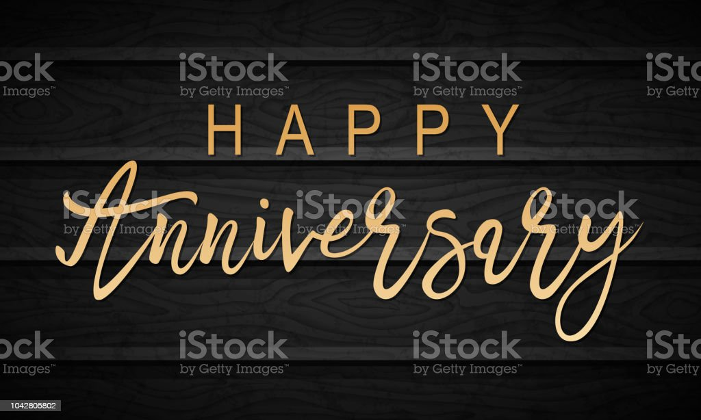 happy anniversary lettering royalty free happy anniversary lettering stock vector art more images