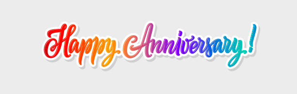 Wedding Anniversary Vector Art Graphics Freevector Com