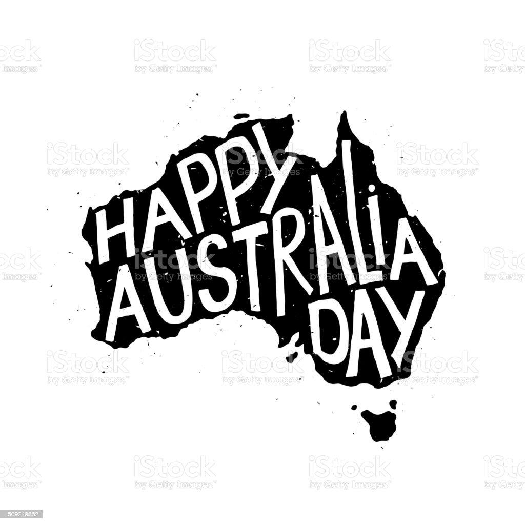 なオーストラリア共和国の日 ベクターアートイラスト