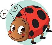 Happy Baby Ladybug
