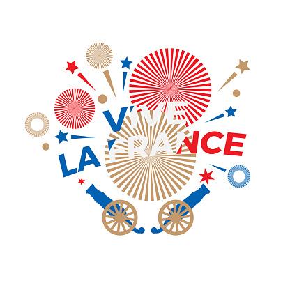 Happy Bastille Day logo