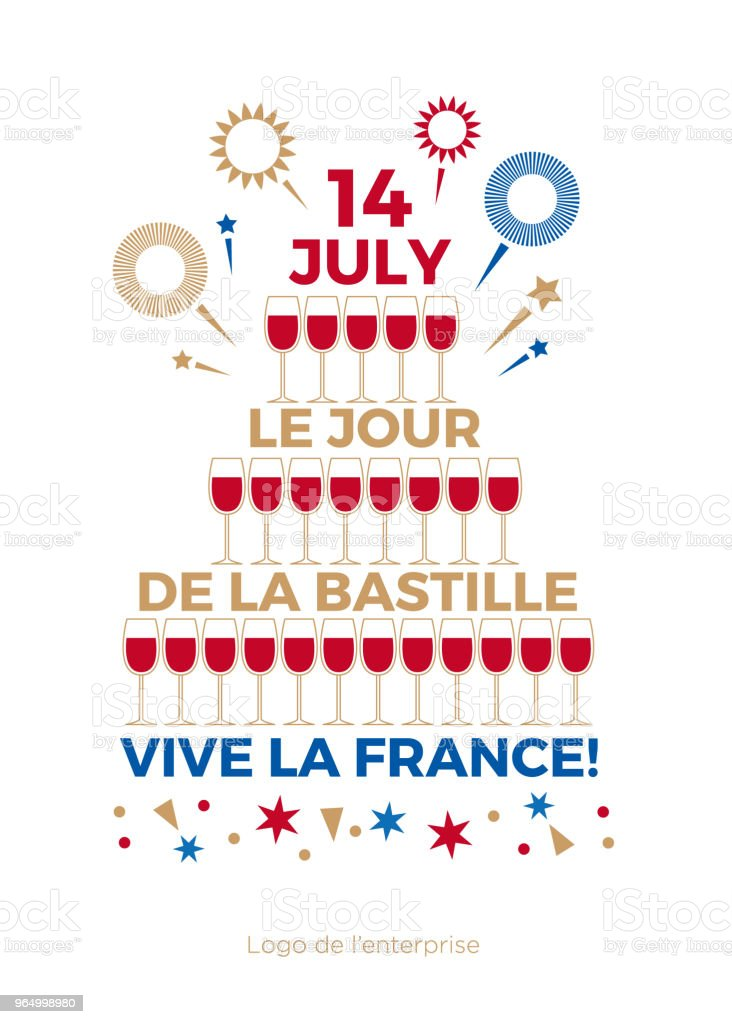Happy bastille day the day of the capture of the bastille greeting happy bastille day the day of the capture of the bastille greeting card m4hsunfo