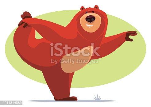 istock happy bear stretching 1211314689
