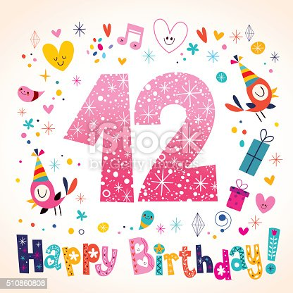 Buon Compleanno Per Bambini Fino A 12 Anni Di Auguri   Immagini