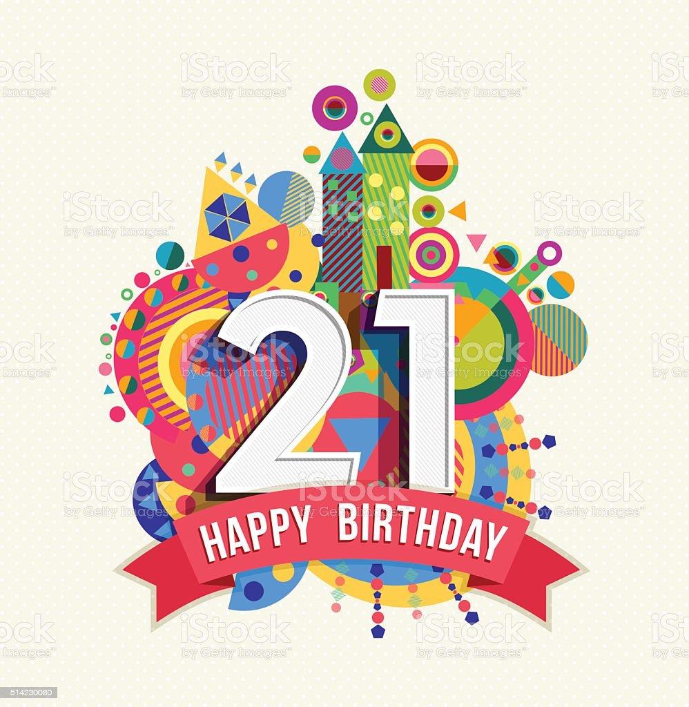картинки с днем рождения 21 год