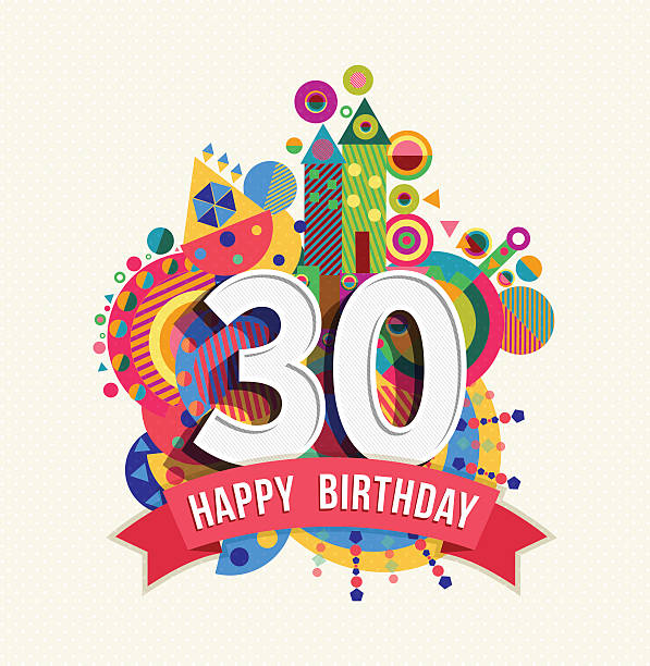 Download Number 30 Illustrations, Royalty-Free Vector Graphics ...