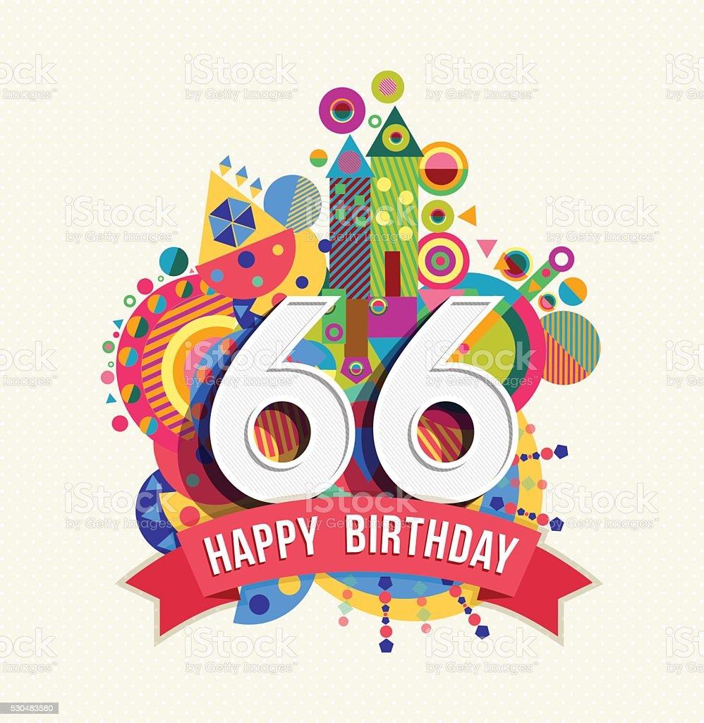 Auguri Buon Compleanno 66 Anni.Buon Compleanno 60 Anni Di Auguri Poster Di Colore